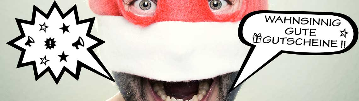 Werbung Startseite - Gutschein Weihnachten