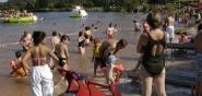 Wasserspielplatz und Nichtschwimmerbereich